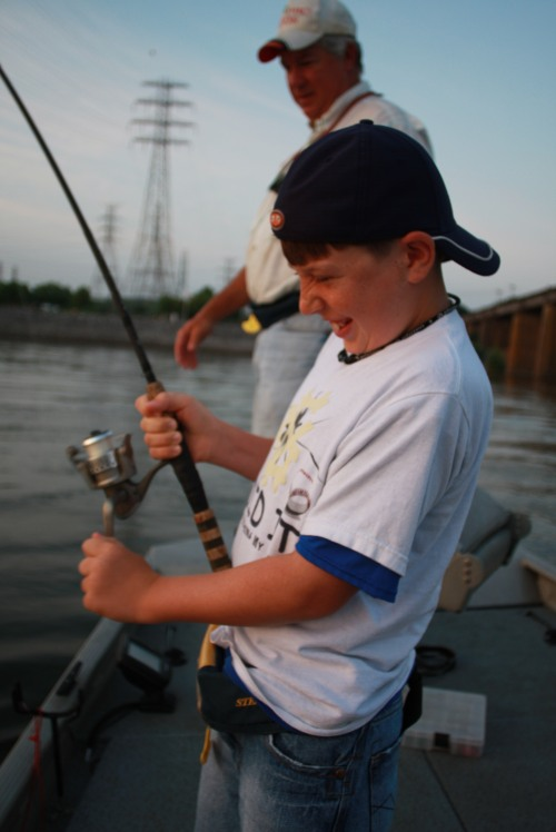 Fishing is fun for all ages and a great way for family members to spend time together. (AC-Photo)