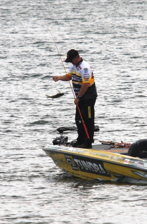 Bass fishing is the most popular activity among almost 40 million anglers nationwide. (AC-Photo)